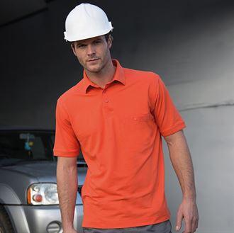 e7254534c Work-Guard Apex Polo shirt - Color Coded