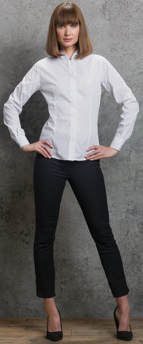cc7ddbfec Women's Mandarin Collar Shirt Short Sleeve £ 13.95. Next product · Klassic  Hooded Zipped Jacket £ 19.95. Click ...