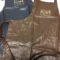 Wipe Clean Faux Leather Bib Apron